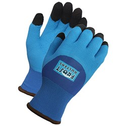 Winter Gloves Blue 15 Guage